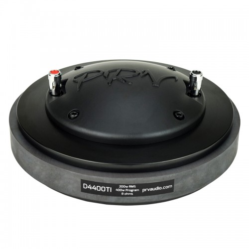 "D4400TI  DRIVER DE COMPRESION  DIAMETRO BOBINA 4"" 200-Watts RMS BOLT-ON   PRV AUDIO"