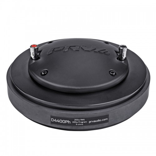 "D4400PH  DRIVER DE COMPRESION  DIAMETRO BOBINA 4"" 200-Watts RMS BOLT-ON   PRV AUDIO"