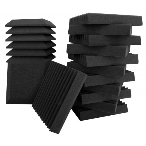 "UA-KIT-SB2 STUDIO BUNDLE  WALL PANEL WEDGE: 12 x 12 x 2"" (12 u) WALL PANEL BEVEL 12 x 12 x 2"" (12 U)"