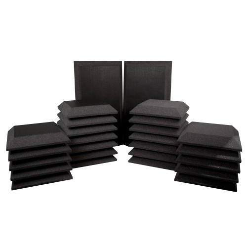 "UA-KIT-SB3  STUDIO BUNDLE BASS TRAP BEVEL VINYL 8.49"" (2 u),  WP/B 12 x 12 x 2"" (12 u) WP/B VINYL 12"