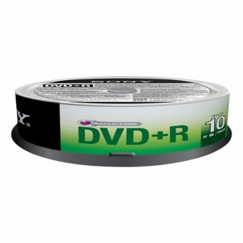 10DPR120AS4/T DVD+R 4.7GB SPINDLE DE 10 SONY