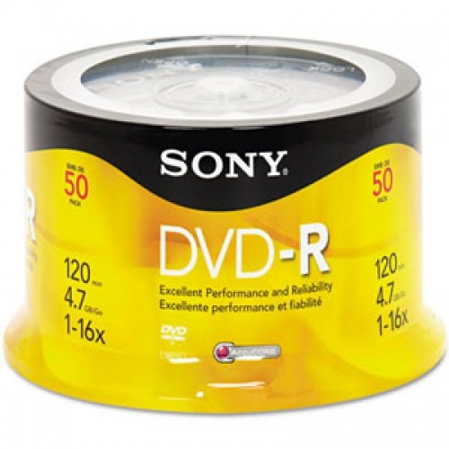 50DMR47 DVD-R SPINDLE 50 SONY
