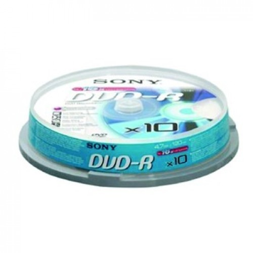 10DMR47BSP DVD-R SPINDLE 10 SONY