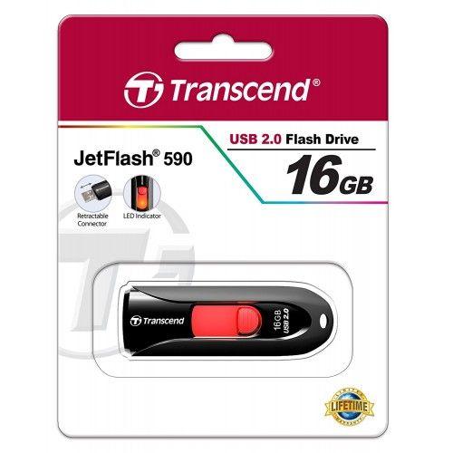 TS16GJF590K MEMORIA USB 16GB JETFLASH 590