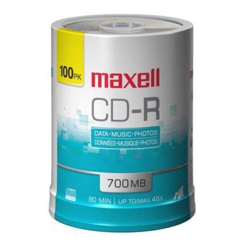 CD-R 700 48X 100 SPINDLE BULK W/FILM (LAMER)