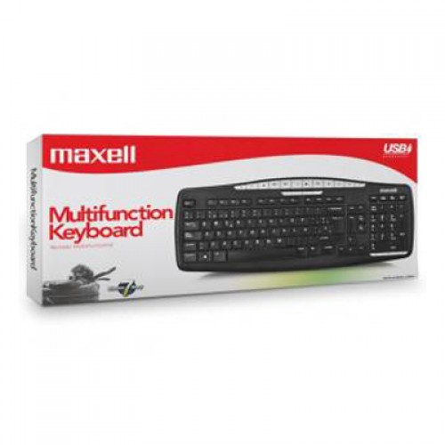 KB-100 ENTRY LEVEL TECLADO MULTIMEDIA USB