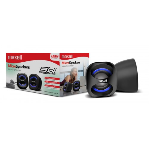 SS-120 USB MICRO STEREO SPEAKER SYSTEM BLUE