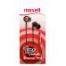 IN-TIPS IN EAR STEREO BUDS W/MIC RED